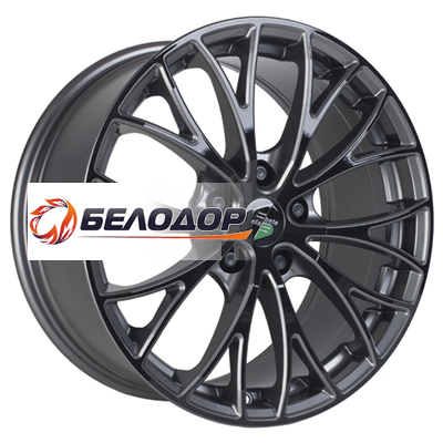 Eta Beta 10,5x20/5x120 ET35 D78,1 Piuma C Anthracite Black Face Shine