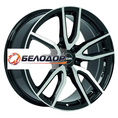 Rial Rial 6,5x16/5x112 ET50 D70,1 Torino Diamant black front polished