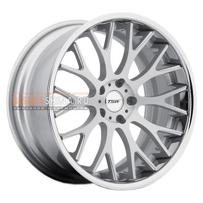 8x19/5x114,3 ET35 D76 Amaroo Silver Brushed Face Chrome Lip
