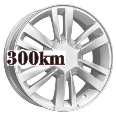 K&K 6x16/4x100 ET50 D60,1 КС678 Сильвер