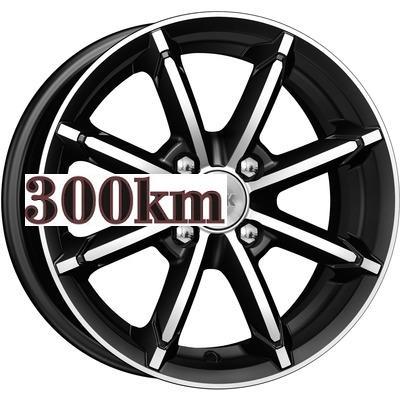 K&K 6x14/4x98 ET30 D58,6 Sportline (КС603) Алмаз черный