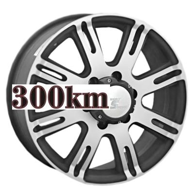 LS 7,5x17/6x139,7 ET38 D67,1 213 GMF (Колпак+лого)