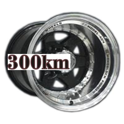 LS 10x15/6x139,7 ET-44 D106,1 879 BKL (Колпак+лого)