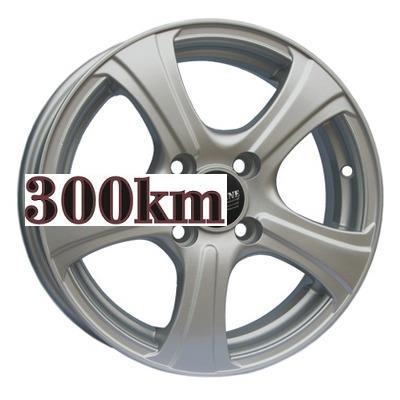 Tech Line 5x14/4x100 ET45 D67,1 405 Silver