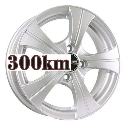 Tech Line 5,5x14/4x100 ET43 D67,1 410 Silver