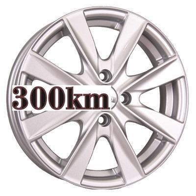 Neo 5,5x15/4x100 ET46 D60,1 524 Silver