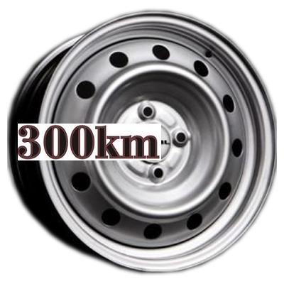 Trebl 5,5x14/4x100 ET45 D57,1 53A45D Silver