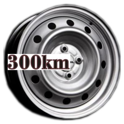 Trebl 6x15/4x100 ET39 D56,6 6445 Silver