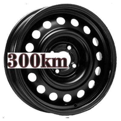 Trebl 6,5x16/4x108 ET26 D65,1 7860 Black