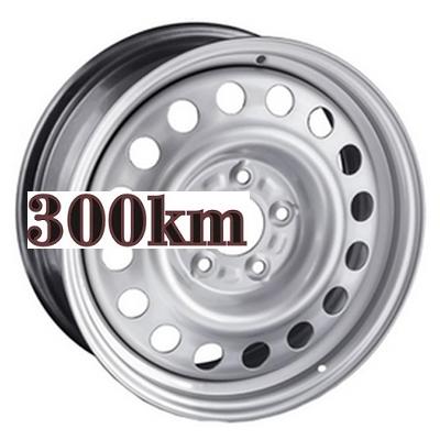 Trebl 6x15/4x100 ET46 D54,1 X40923 Silver