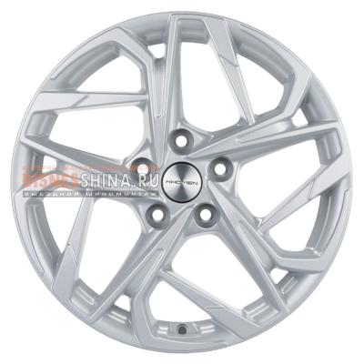 7x17/5x112 ET49 D66,6 KHW1716 (Audi A4) F-Silver