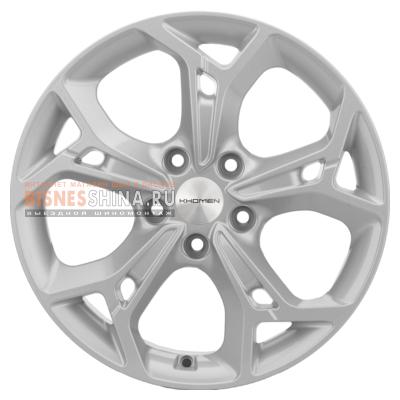 7x17/5x114,3 ET50 D67,1 Double-Spoke 702 (ZV 17_CX-5/Seltos) F-Silver