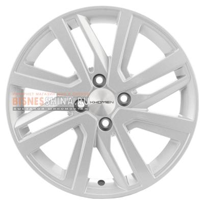 6x16/4x100 ET46 D54,1 V-Spoke 609 (16_Rio II/Solaris II) F-Silver