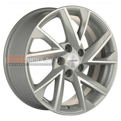 7x17/5x112 ET49 D66,6 V-Spoke 714 (17 ZV Audi A4) F-Silver-FP