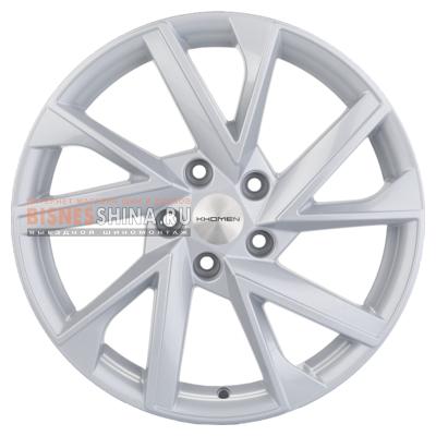 7x17/5x112 ET45 D57,1 V-Spoke 714 (17 ZV Caroq) F-Silver