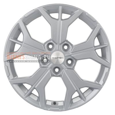 7x17/5x112 ET45 D57,1 Y-Spoke 715 (ZV 17_Karoq) F-Silver