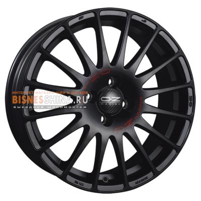 8x19/5x112 ET35 D75 Superturismo GT Matt Black + Red Lettering